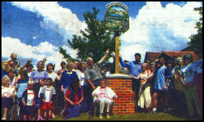 Village sign unveiled